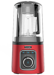 vacuum blender red